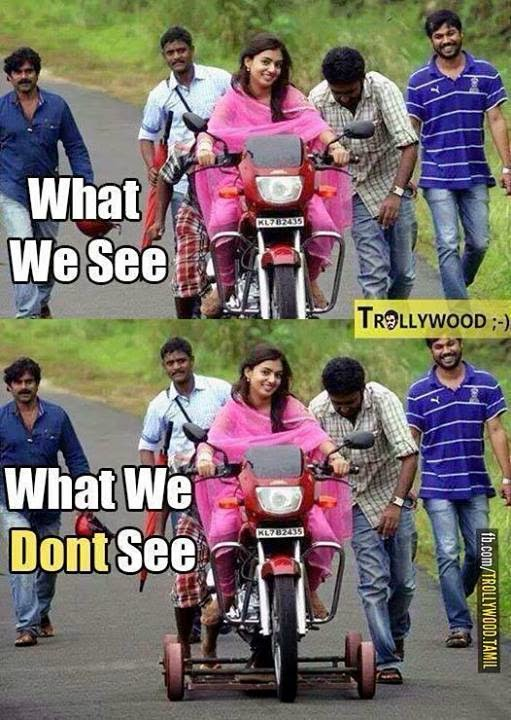 South Indian Movie Funny : south, indian, movie, funny, See..!!, Don't, Movies, Nazriya, Nazim, Riding